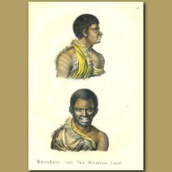 Inhabitants Of Van Diemens Land