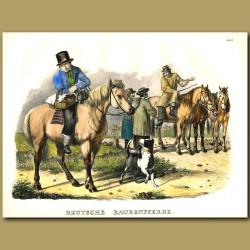 German Farm Horses