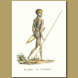 Aborigine Inhabitant Of New Holland
