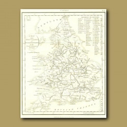 Map Of Rivers And Canals Of England And Wales