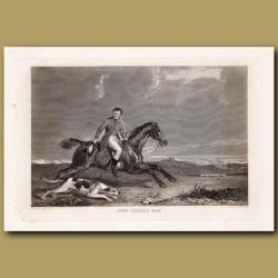 John Dalyell Esq and foxhound