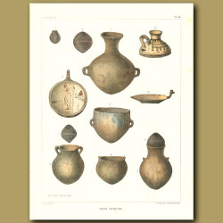 Indian Antiquities From Chile And Peru - Pottery