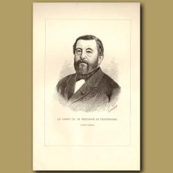 Portrait Du Comte Charles Kerchove