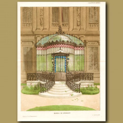 Verandah of a French Chateux
