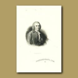 Portrait Of Linnaeus