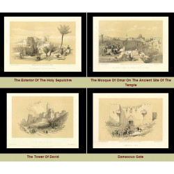 High Res Images: 42 Holy Land Artworks By David Roberts
