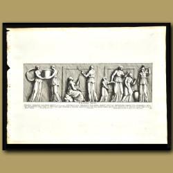 Virgin Roman Women And Goddesses