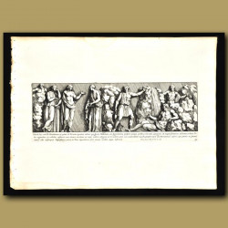 Roman Men And Women In A Garden