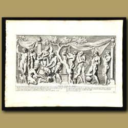 Celebration Of Bacchus, God Of Food And Wine