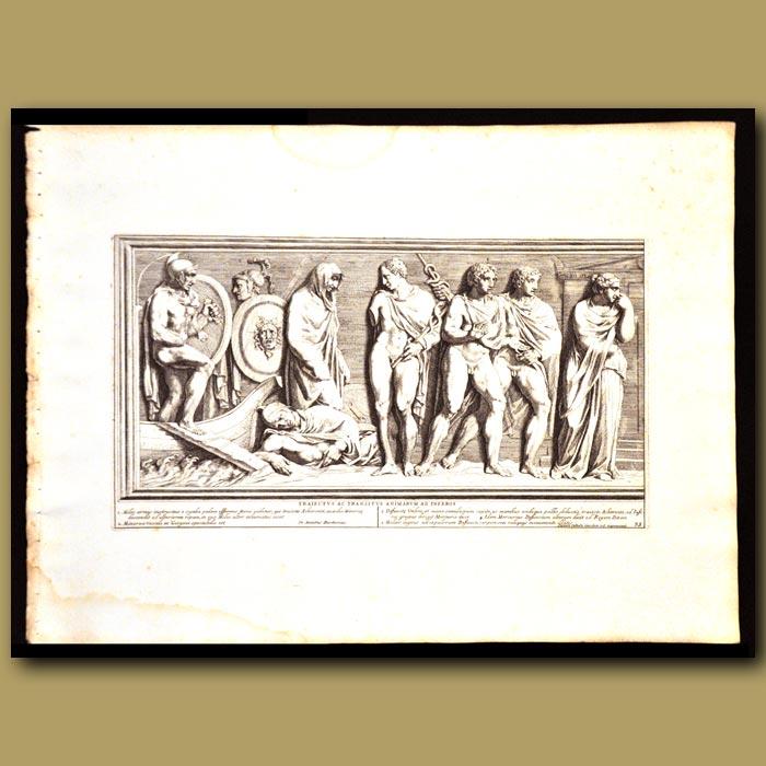 Antique print. Passage Of The Souls