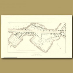 Pompeii: Plan Of The Street Of The Tombs