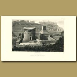 Pompeii: Back of the Tomb of Scaurus