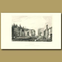 Pompeii: Inside the Gate of Herculaneum