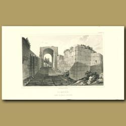 Pompeii: Gate of Nola outside