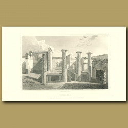 Pompeii: Court of House of Surgical instruments