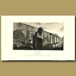 Pompeii: Pseudo garden and triclinium House of Actaeon