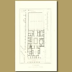 Pompeii: Plan of the House of Pansa