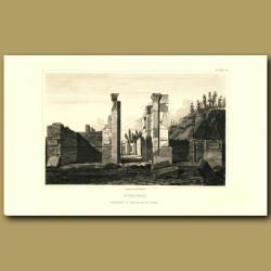 Pompeii: Entrance to the House of Pansa