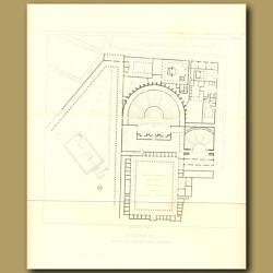 Pompeii: Plan of the quarter of the Theatres
