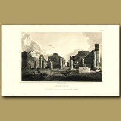 Pompeii: Entrance Portico to the Greek Temple