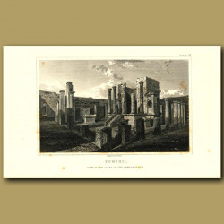 Pompeii: View in the Court of the Temple of Isis