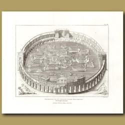 Aquatic amphitheatre. (Double sized print)