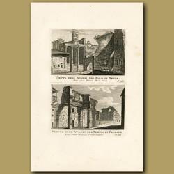 Views of the Palladian Temple (Tempio di Pallade)