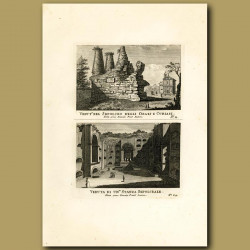 Views of Sepulchres (Burial Grounds or Tombs)