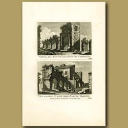 Ruins of Roman Aquaducts