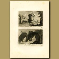Remains of a tomb and Villa near Tivoli