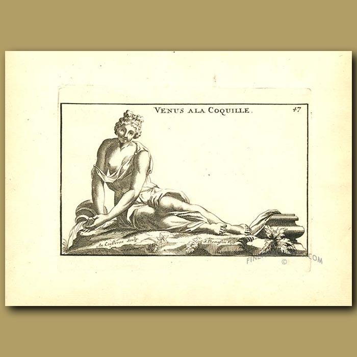 Antique print. Venus
