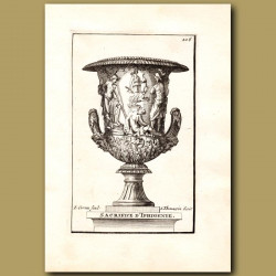 Marble Vase with the Sacrifice of Iphigenie
