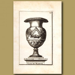 Marble Vase with the Horns of Plenty