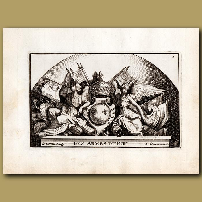 Antique print. The Kings' Arms