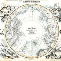 Antique Maps Of The Arctic And Antarctica