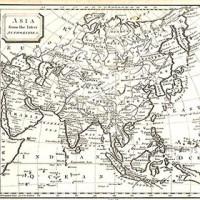 Antique Maps Of Asia