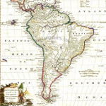 Antique Maps Of South America
