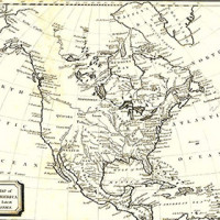 Antique Maps Of North America
