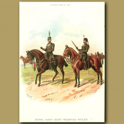 The Royal East Kent Mounted Rifles