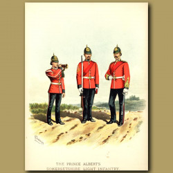 The Prince Albert's Somersetshire Light Infantry