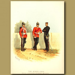 The King's Own Royal Lancaster Regiment (4th Foot)