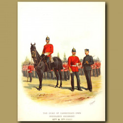 The Duke Of Cambridge's Own ( Middlesex Regiment ) (57th And 77th Foot)