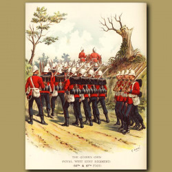 The Queen's Own ( Royal West Kent Regiment) (50th And 97th Foot)