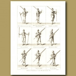 Manual Exercise Of The Musketeers Pl.1