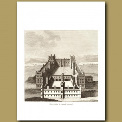 Chelsea College As Originally Intended