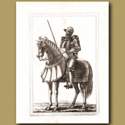 Horse Armoury In The Time Of King Edward III