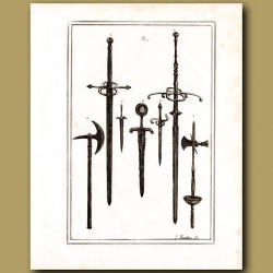 Two Handed Swords And Daggers