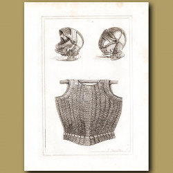 Helmets And A Cuirass Belonging To King Henry VIII