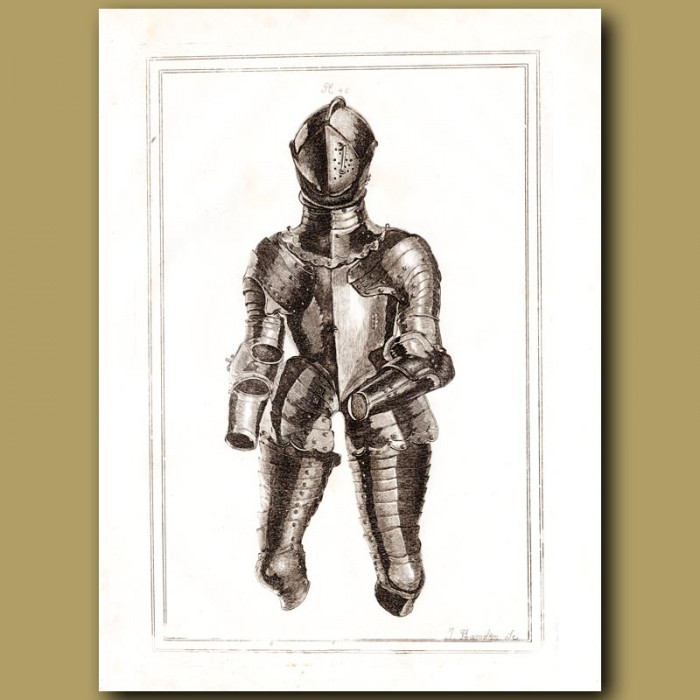 Antique print: The Duke Of Monmouth's Suit Of Armour
