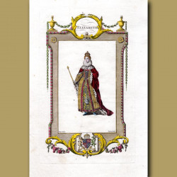 Elizabeth. The Fifth And Last Soveriegn Of The House Of Tudor